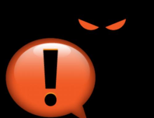 Getroffen door malware